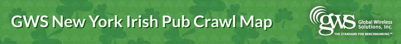 GWS London Pub Crawl Map
